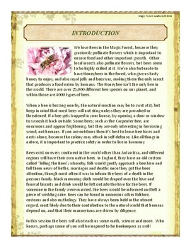 Bees Themed Nature Education Unit-Stage 2 (Magic Forest Academy)