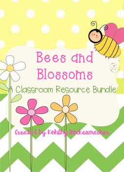 Bees and Blossoms: Garden-Themed Teacher's Binder and Resource Printables