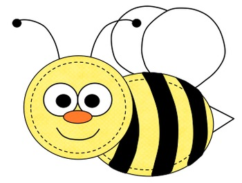 Bees and Honey Clipart