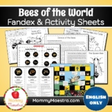 Bees of the World Fandex & Activity Pages