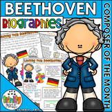 Beethoven Biographies (Composer of the Month)