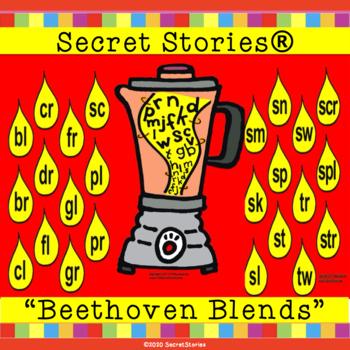 "SECRET STORIES® ""Beethoven Blends"" Phonics Posters/ Blends ""Secrets!"""