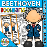 Beethoven Bookmarks (Composer of the Month)