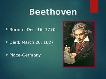 Beethoven Brief History
