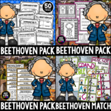 Beethoven Bundle!  Listening Activities, Drawing, Writing for Winter/December