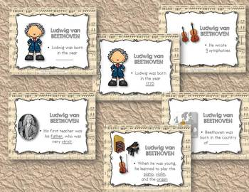 Beethoven - Composer Review, Rhythmic Practice, & Instrumental Arrangement