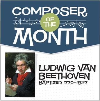 Beethoven | Composer of the Month Bulletin Board Pack (Digital Print)