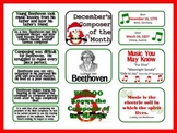Beethoven Composer of the Month (December) Bulletin Board Kit