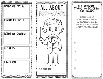 Beethoven - Famous Composer Research Project, Music History