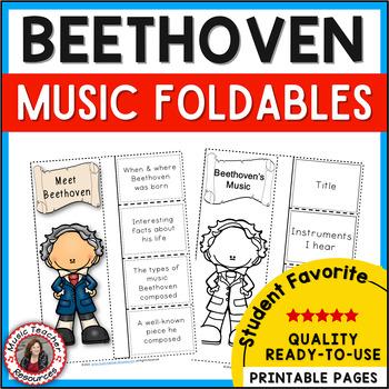 Composer Foldables: BEETHOVEN