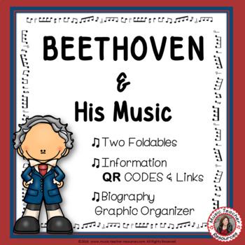 Music Composers: BEETHOVEN Foldables: Music Listening Activities