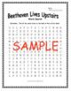 Beethoven Lives Upstairs (1992) WORD SEARCH
