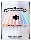 Lesson: Beethoven Lives Upstairs by Barbara Nichol Lesson Plans, Worksheets, Key