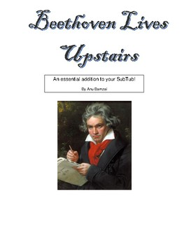 Beethoven Lives Upstairs worksheet by Music Teachers are Rock Stars