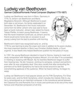 Beethoven | Meet the Composer Series Piano Book, Vol. 1 (Digital Print)