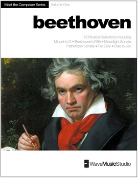 Beethoven | Meet the Composer Series Piano Book, Vol. 1 (D