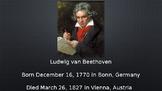 Beethoven PowerPoint/Listening Activity