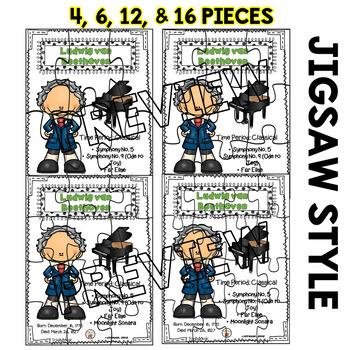 Beethoven Puzzles (Composer of the Month)