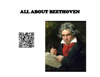 Beethoven QR Code Posters