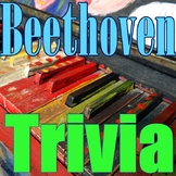Beethoven Trivia - PowerPoint Game - Composer Jeopardy - Elementary Music
