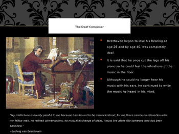 Beethoven...his life and music PPT