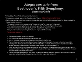 Beethoven's Fifth Symphony Listening Guide