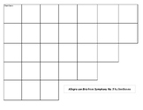 Beethoven's Fifth Symphony Listening Guide grid paper