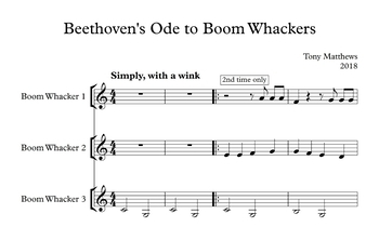 Beethoven's Ode to Boomwhackers