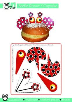Beetle Donut   Cupcake