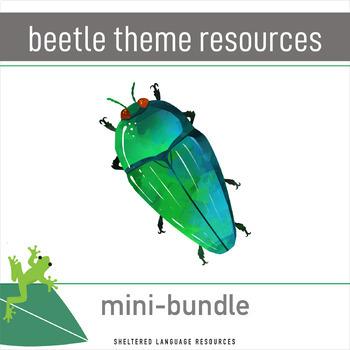 Beetle Themed Resources Bundle