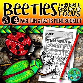 Beetles, Ladybugs & Bess Beetles! {A booklet celebrating C