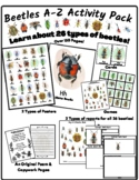 Beetles Activity Pack - Learn About 26 Different Beetles