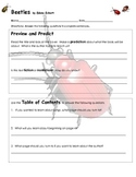 Beetles {Comprehension and Informational Text Activities}