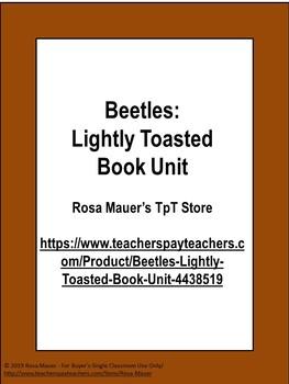 Beetles: Lightly Toasted Free Quiz