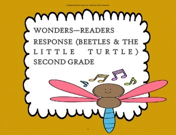 Beetles & The Little Turtle - 2nd Grade Trifolds + Activities