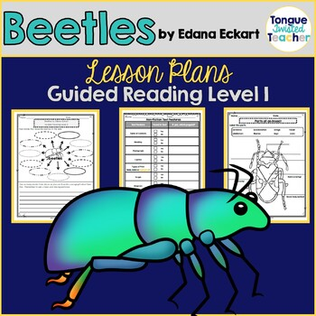 Beetles by Edana Eckart, Guided Reading Lesson Plan, Level I, Non-Fiction Focus