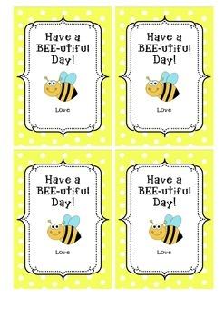 Beeutiful Day Valentines Message