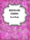 Beezus and Ramona Novel Study Packet