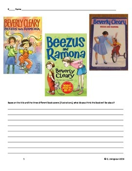 Beezus and Ramona Packet