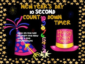 Beezy Digital New Year's Day Countdown Timers