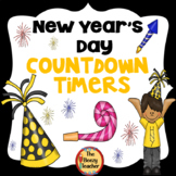 Digital Rotation Timer for Centers New Year's Day Countdown