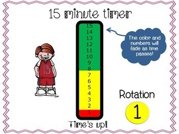 Beezy Rotation Timer 15 Minutes