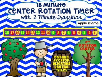 Beezy Rotation Timer 18 Minutes - Apple Theme