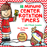 Beezy Rotation Timer 18 Minutes - Reindeer Theme