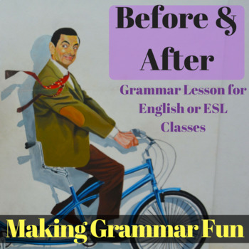 Before & After - ESL Lesson