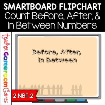 Before, After, In Between Pumpkin-Themed Smartboard Flipchart