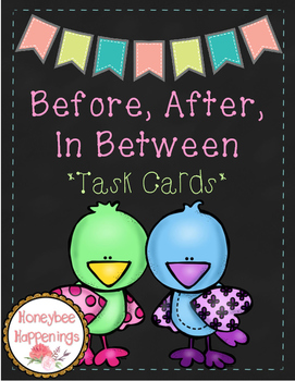 Before, After, In Between: Task Cards