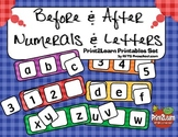 Before After Mats [Numerals & Letters]