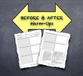 """Before & After"" Warm-Ups:  Promote Reflection About Common Errors"