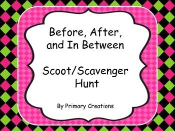 Before, After, and In Between Scoot